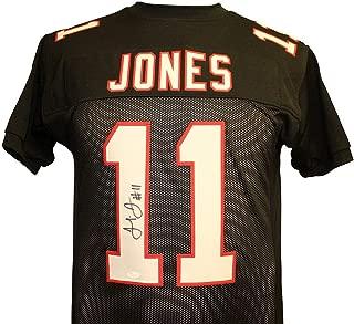 Julio Jones Autographed Signed Atlanta Falcons Black Custom Jersey - JSA Authentic