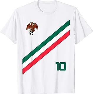 Mexico Soccer Jersey Style Aztec Eagle Flag Futbol Snake New T-Shirt