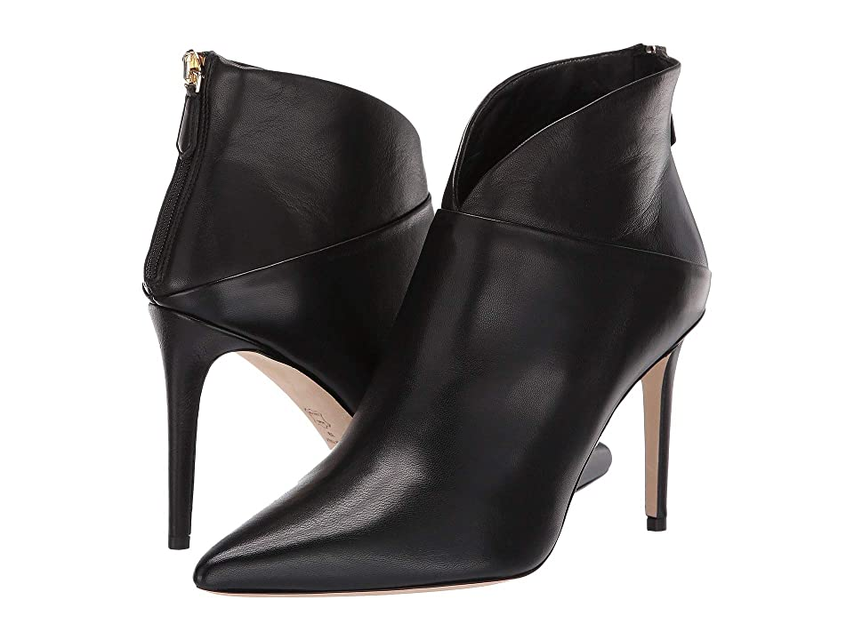 L.K. Bennett Jennifer Pointed Ankle Boot (Black) Women