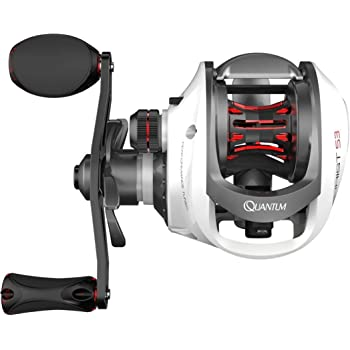 Quantum Accurist S3 PT Baitcast Fishing Reel, 8+1 Bearings, 6.3:1 Gear Ratio, Right Hand, Size 100