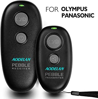 AODELAN Wireless Shutter Remote Release Control, Camera Wired Remote Control Cord for Panasonic GH4 GH5 GH5S G9 G7 G85 GX8 GX7 FZ1000 FZ2500 for Olympus E-M1 E-M5 Mark II E-M10 Mark II Pen-F Cameras