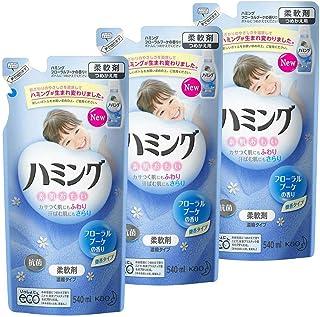 【まとめ買い】 ハミング 柔軟剤 フローラルブーケの香り 詰替用 540ml×3個
