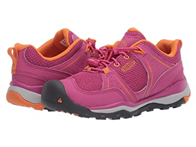 Keen Kids Terradora II Sport (Little Kid/Big Kid) (Very Berry/Russet Orange) Girl