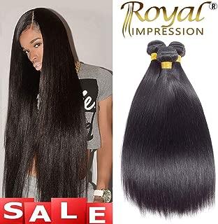 10A Brazilian Virgin Straight Hair 3 Bundles 10