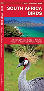 South Africa Birds: A Folding Pocket Guide to Familiar Species in the South African Region (Wildlife and Nature Identification)