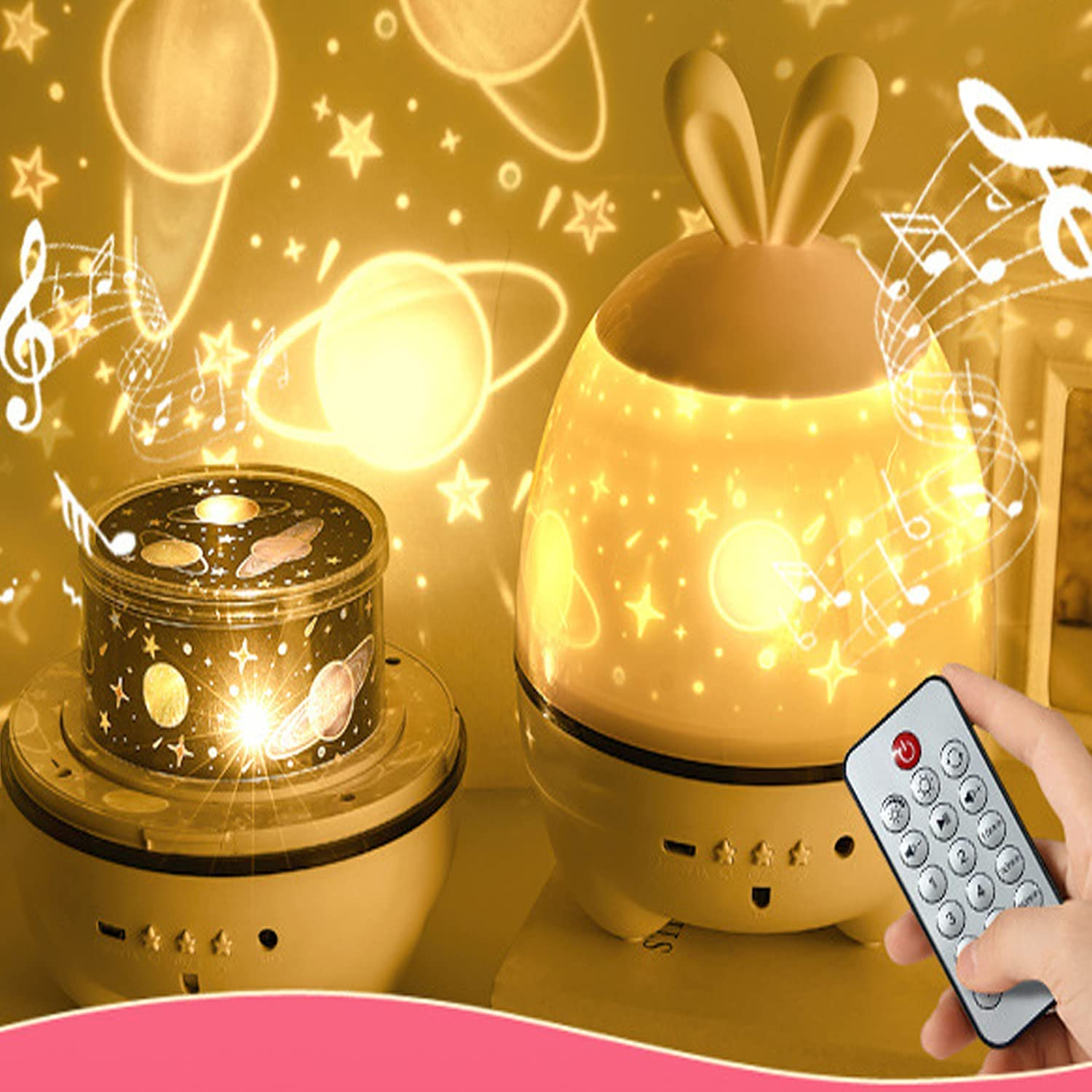 Projector Lights LED Boston Daily bargain sale Mall Bluetooth Music Speakers Proje Bedroom Star
