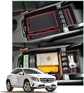 linfei Scatola Portaoggetti per Braccioli per Mercedes Benz Classe Cla C118 Cla250 Classe Glb X247 A W177 A180 A200 B W247 B180 B200 Accessori Auto