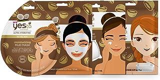 Yes To Coconut Mask Bundle (4 Single Use Masks - Mud, Paper, Sleeping, DIY)