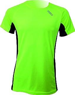 comprar comparacion Camiseta Deportiva Manga Corta EKEKO Marathon, Camiseta Hombre Fabricada en Poliester microperforado, Running, Fitness y D...