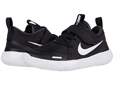 Nike Kids Flex Contact 4 (Little Kid) (Black/White/Anthracite) Kid