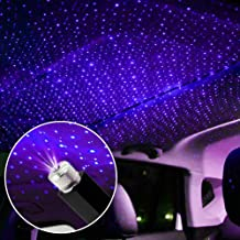 USB car Full Star Atmosphere Light Starlight Projection Night Light LED Interior Light Starry Night Light Modified car Int...