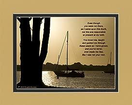 Stepdad or Stepmom Gift, Boats Photo