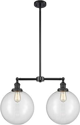 Innovations Lighting 209-BK-G202-12-LED Bare Bulb 1 Light Cord Set, Matte Black