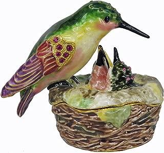 RUCINNI Hummingbird/Nest Jewel Box