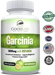 Pure Garcinia Cambogia - 95% HCA Extract Natural Appetite Suppressant