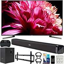 $3976 » Sony XBR-85X950G 85 inch LED 4K UHD HDR Smart TV 2019 Model Bundle with Deco Gear 60W Soundbar, Wall Mount Kit, 2.4GHz Backlit Keyboard, 6-Outlet Surge Adapter and Screen Cleaner for LED TVs