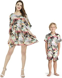 mother son luau outfits