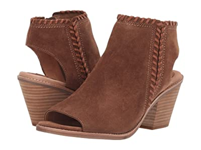 Sofft Maleigha (Light Brown/Tan Bourbon Cow Suede/Wild Steer) Women