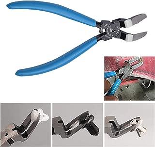 Mutipurpose Diagonal Cutting Pliers Seal Puller Car Push Retainer Rivet Trim Clip Pry Puller Clips Panel Assortments Puller Tool (Blue)