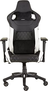 Corsair CF-9010012 WW T1 Gaming Chair Racing Design, Black/White