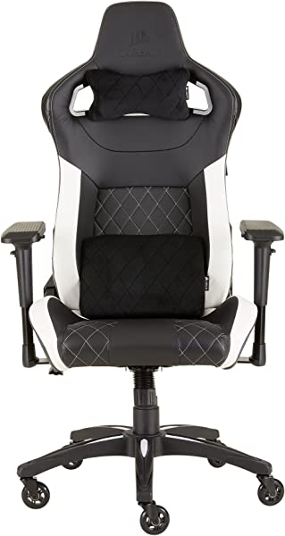 Corsair CF 9010012 WW T1 Gaming Chair Racing Design Black White