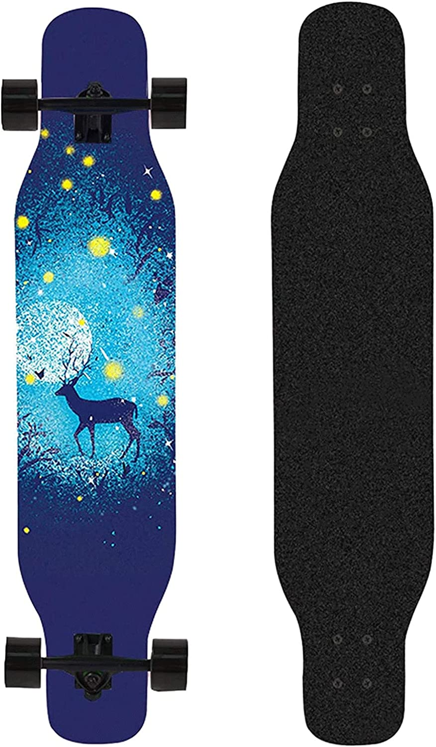 EEGUAI 42 Inch 8 Layer Skate Complete Max 73% OFF Ranking TOP9 Maple Skateboard Longboard