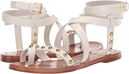 Ravello Studded Ankle-Wrap Sandal