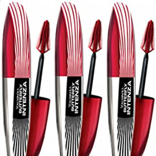 L'Oreal Paris Voluminous Butterfly Intenza Washable Mascara, 379 Black (Pack of 3)