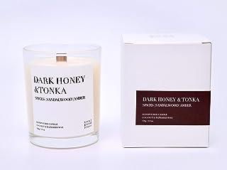 Dark Honey & Tonka Scented Candle