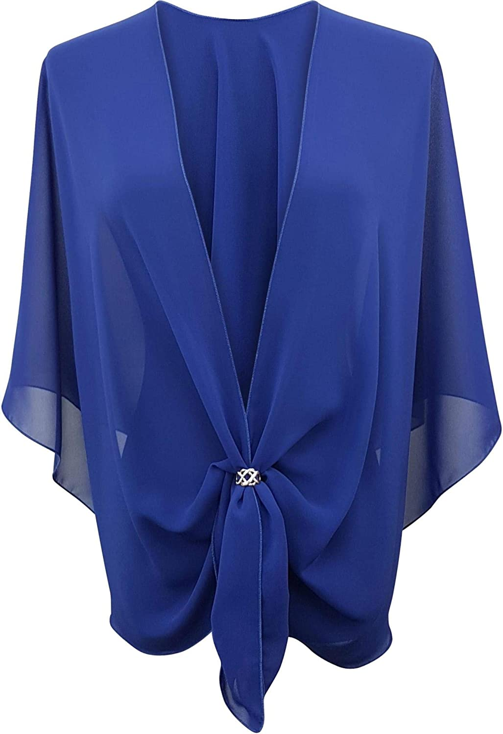 eXcaped Fashionable Womens Evening 100% quality warranty Dress Shawl Wrap - and Scarf Set She Ring
