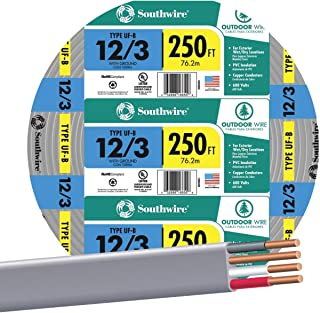 SOUTHWIRE COMPANY #13058355 250' 12/3 W/G UF Cable
