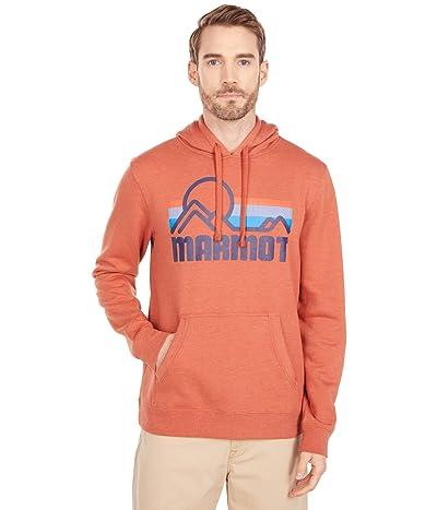 Marmot Coastal Hoodie (Picante Heather) Men