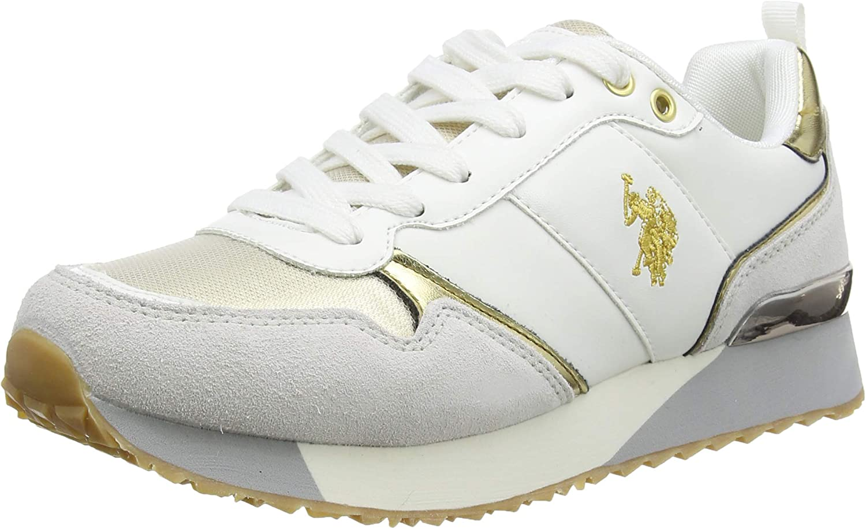 U.S. Attention brand Polo Assn. Denver Mall Women's Gymnastics Low-top Shoes