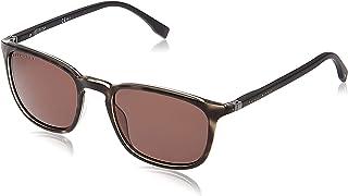 Hugo Boss Wayfarer Sunglasses for Men - Brown lens, BOSS 0960/S aCI70