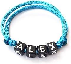 Bracciale ALEX con nome, testo, messaggio; regalo personalizzato per adulti e bambini; creazione personalizzata; lettere d...