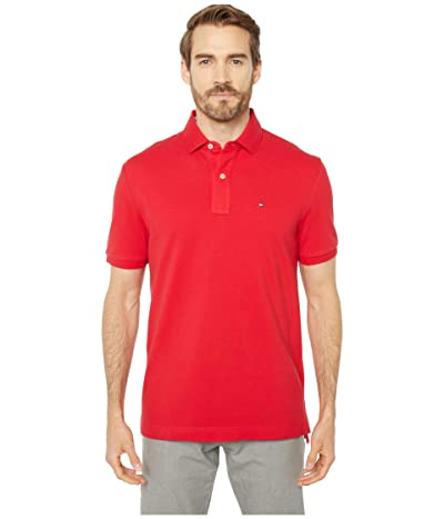 Tommy Hilfiger Adaptive Ivy Polo Shirt Regular Fit (Apple Red) Men