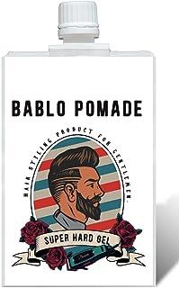 バブロ ポマード ヘアジェル スーパーハード メンズ用 ヘアグリース ヘアワックス 整髪料 バーバー