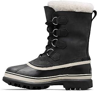 Sorel Women's Caribou NL1005 Boot,Black/Stone,7.5 M
