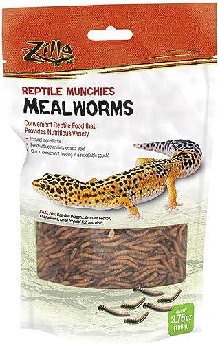 wholesale Zilla online sale Reptile Food online Munchies Mealworm, 3.75-Ounce online sale