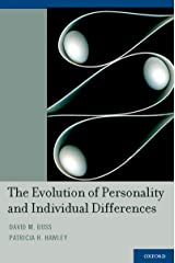 The Evolution of Personality and Individual Differences (English Edition) Format Kindle