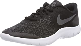 Nike Kids Flex Contact (GS) Running Shoes (3.5 Big Kid M,  Black Drk Gry Anthracite White)