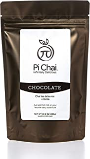 Sponsored Ad - Pi Chai, Chai Tea Latte Mix, Chocolate Chai, Black Tea, Exotic Spices, Chocolate, 10.2 oz, 12 servings