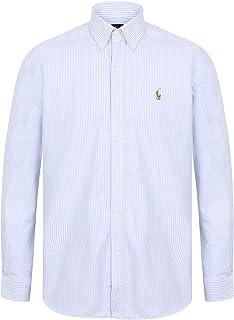 dd5914136 POLO by Ralph Lauren Mens Button Down Oxford Shirt Standard Fit