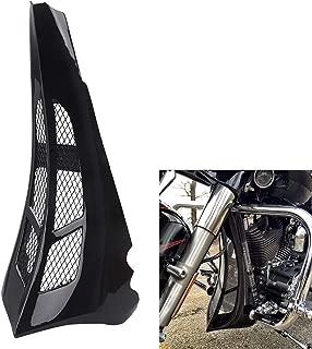 XMMT Gloss Black Chin Spoiler Scoop For 2014-2019 Harley Touring Road King Road Glide Street Glide Custom Bagger