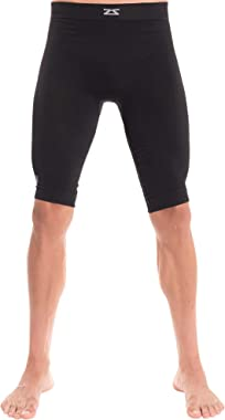 Zensah Recovery Compression Short - Hamstring Support, Compression Shorts for Running, Athletic Compression Short