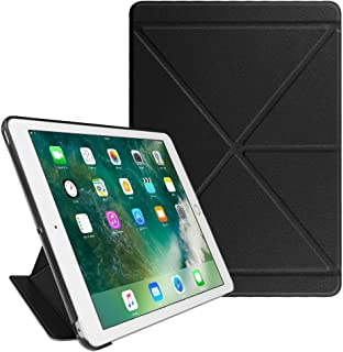 Fintie iPad 9.7 2018 2017 / iPad Air 2 / iPad Air Origami Case - Slim Fit Multi Angle Standing Cover with Auto Wake/Sleep Feature for iPad 6th / 5th Gen, iPad Air 1 2, Black