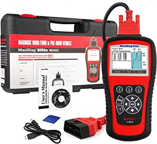 Autel MD802 OBD2 Scanner EOBD Scan Tool for Engine Transmission ABS Airbag EPB Oil Service Reset