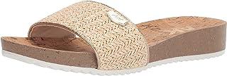 Anne Klein Women's Qtee Flat Slide Sandal