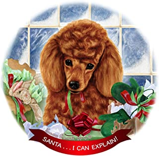 Best red poodle christmas ornaments Reviews