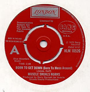 Hustle To The Music / Born To Get Down - Muscle Shoals Horns 7